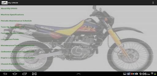 My DR650 pc screenshot