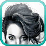 Hair fashion step by step icon