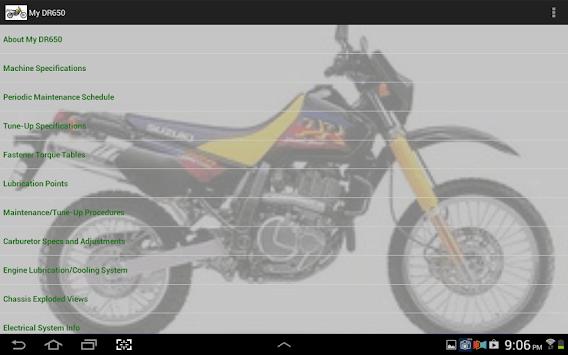 My DR650 APK screenshot 1